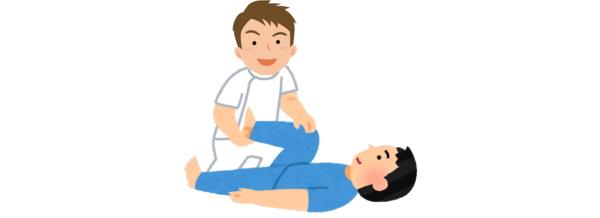 カイロプラクティック、整体の腰痛治療。様々な手技や矯正器具を使って、背骨、骨盤を矯正します。