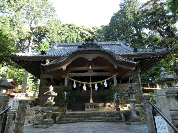 渭伊神社 (いいじんじゃ)、静岡県浜松市