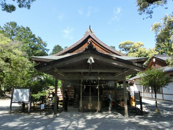 井伊谷宮(いいのやぐう)、静岡県浜松市