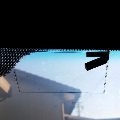 フロントガラス、修理